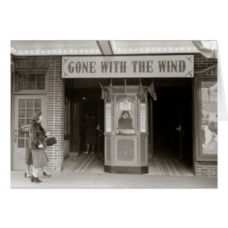 Southern Movie House, 1940 Card