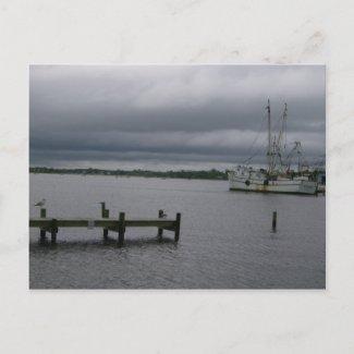 Southern North Carolina Seascape & Sunrises postcard