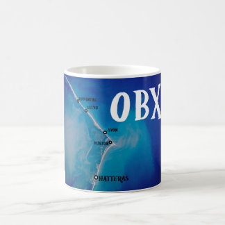 Southern OBX map Coffee Mug