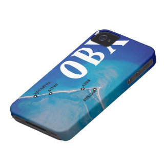Southern OBX Map iPhone 4 Case-Mate Case