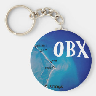 Southern OBX map Keychain