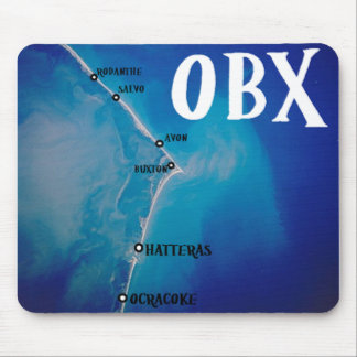 Southern OBX map Mouse Pad