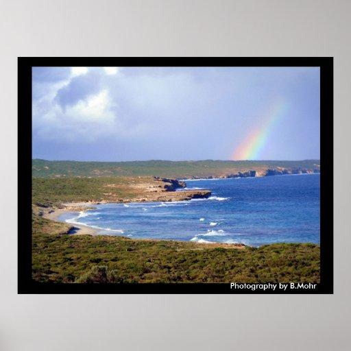 Southern Ocean Coastline Poster