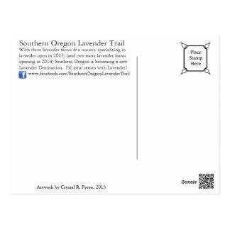 Southern Oregon Lavender Trail Postcard
