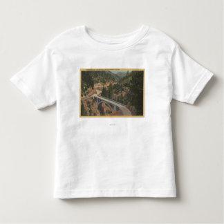 Southern Oregon - Pioneer Bridge, Canyon Creek Toddler T-shirt