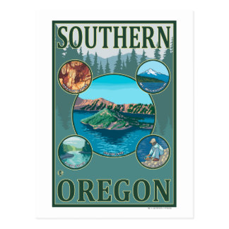Southern OregonScenic Travel Poster Post Cards