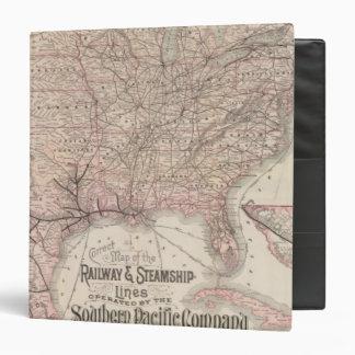 """Southern Pacific Company Carpeta 1 1/2"""""""
