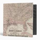 Southern Pacific Company Vinyl Binder