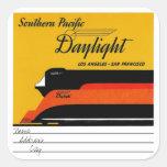 Southern Pacific Daylight Colcomanias Cuadradases