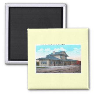 Southern Pacific Depot, Santa Rosa Vintage Magnet