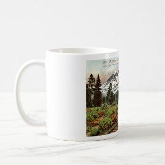 Southern Pacific Mt. Shasta 1912 Vintage mug