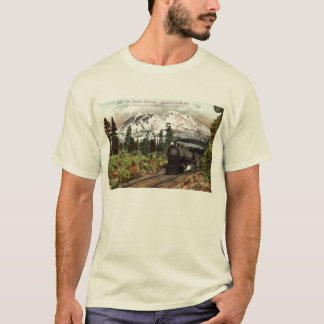 Southern Pacific Mt. Shasta 1912 Vintage T-Shirt