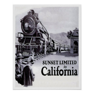 Southern Pacific Railroad - 1920s - medium poster