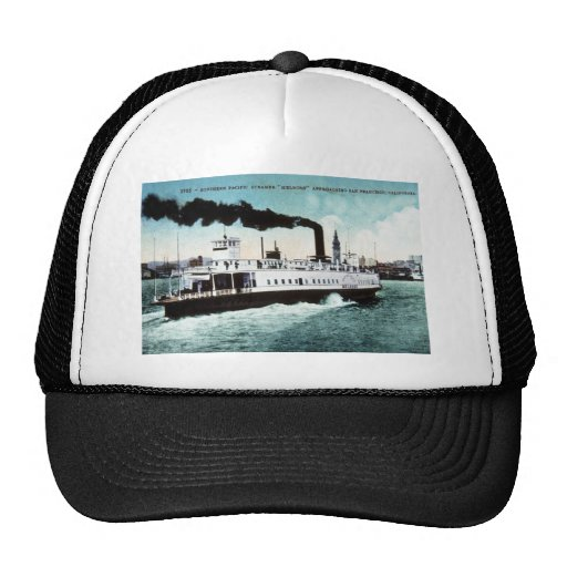 Southern Pacific Steamer Melrose Trucker Hats