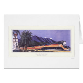 Southern Pacific Streamlined Daylight Card
