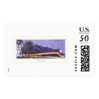 Southern Pacific Streamlined Daylight Postage
