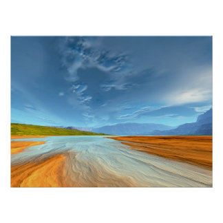Southern Parfair - Low Tide Print