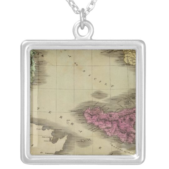 Southern Part Of Italy Silver Plated Necklace