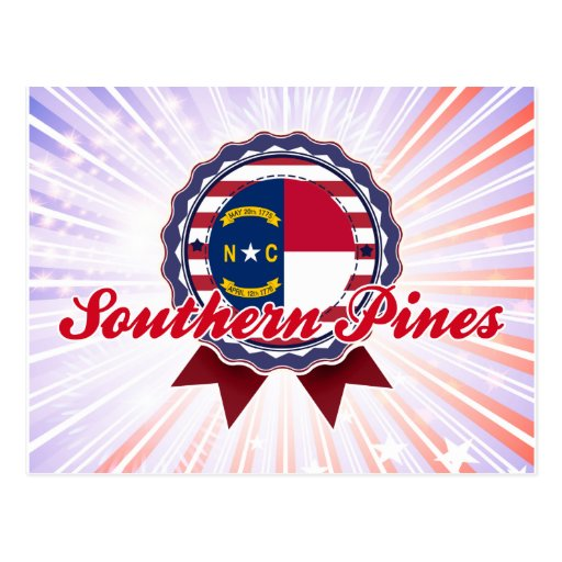Southern Pines, NC Post Card