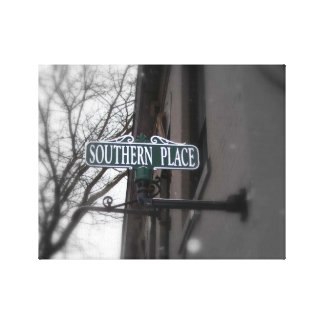 Southern Place Canvas