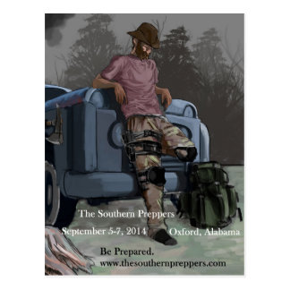 Southern Preppers postcards Postcard
