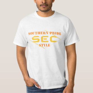 Southern Pride SEC Style Men's Casual T-Shirt