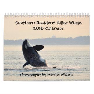 Southern Resident Killer Whale 2016 Calendar