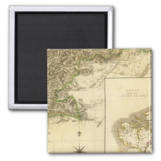 Southern Ross, Cromarty Shires 2 Inch Square Magnet