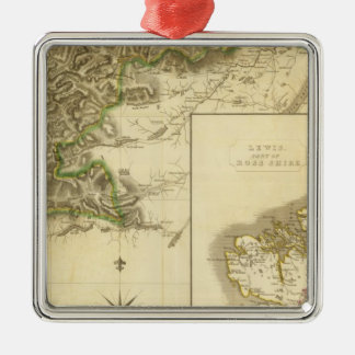 Southern Ross, Cromarty Shires Metal Ornament