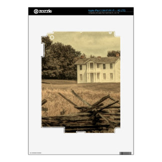 Southern Rural Landscape Rustic colonial Farmhouse Decal For iPad 3