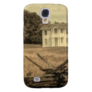 Southern Rural Landscape Rustic colonial Farmhouse Galaxy S4 Case