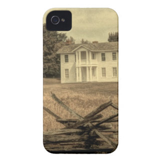 Southern Rural Landscape Rustic colonial Farmhouse iPhone 4 Cover