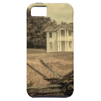 Southern Rural Landscape Rustic colonial Farmhouse iPhone SE/5/5s Case