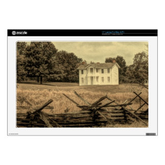 Southern Rural Landscape Rustic colonial Farmhouse Laptop Decals