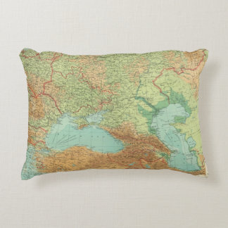 Southern Russia Decorative Pillow
