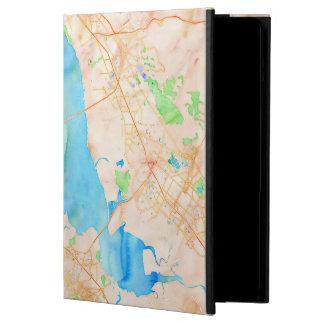 Southern San Francisco Bay Watercolor Map iPad Air Case