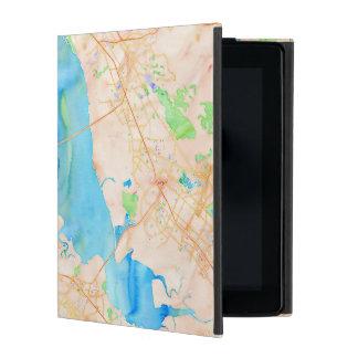 Southern San Francisco Bay Watercolor Map iPad Cover