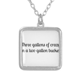 Southern Sayin's Silver Plated Necklace