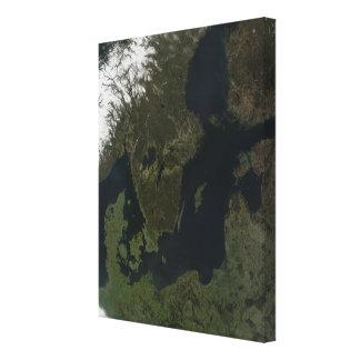 Southern Scandinavia Canvas Prints