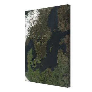Southern Scandinavia Gallery Wrap Canvas
