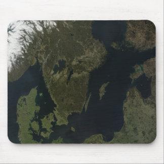 Southern Scandinavia Mouse Pad