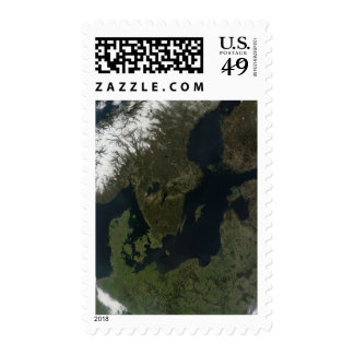 Southern Scandinavia Postage Stamp