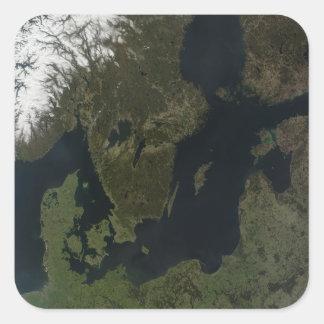 Southern Scandinavia Square Stickers