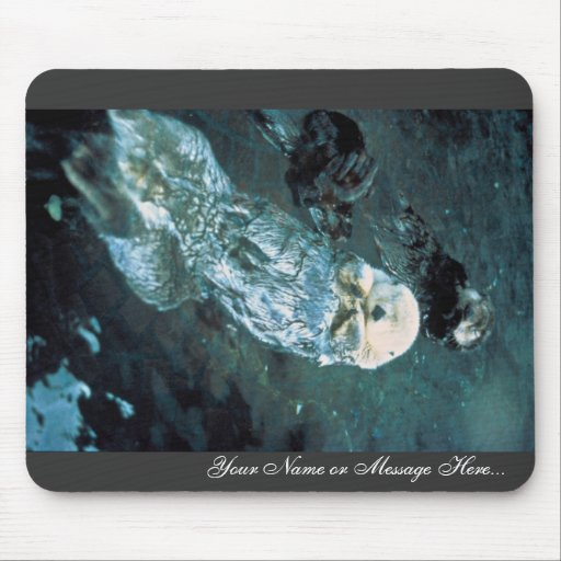Southern Sea Otters Mouse Pad