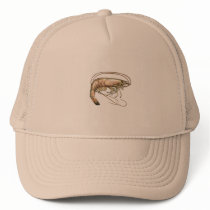 Southern Shrimp Art Trucker Hat