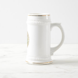 Southern Sky Star Chart and Constellations Map Beer Stein