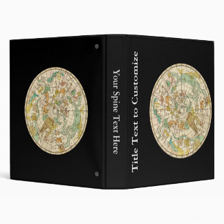 Southern Sky Star Chart and Constellations Map Binder