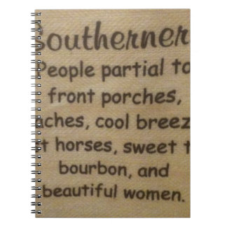 Southern slang notebook