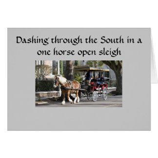 SOUTHERN SLEIGH RIDE CHRISTMAS GREETING CARDS