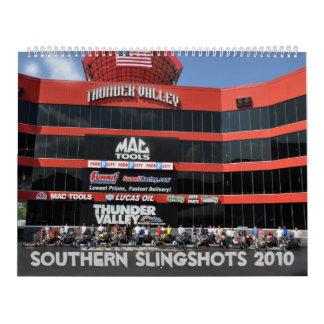 Southern Slingshots 2010 Calendar